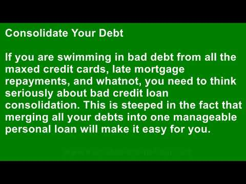 What Can I Do to Clear My Name of Credit Issues So That I Can Get a Personal Loan?