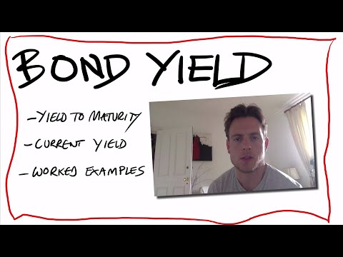 ep7: bond yields explained - how to calculate  yield to maturity, worked example