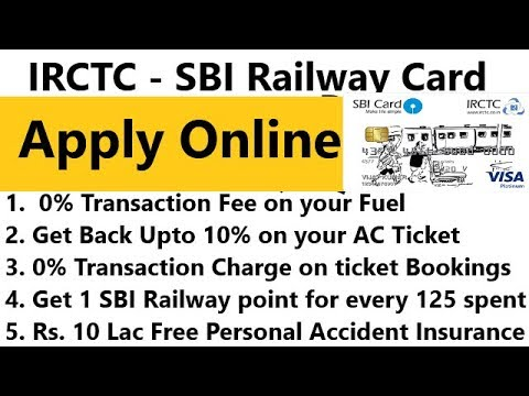IRCTC - SBI Railway Card With Many Benefits | Best Offers And Deals | Apply Online