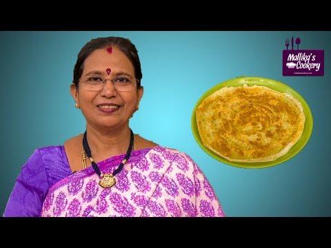 PODI DOSA : Mallika Badrinath Recipe | Dosa Variety