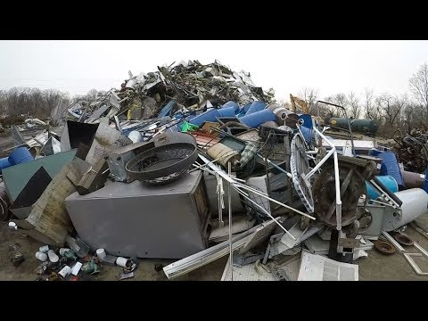 Scrap Metal Recycling - Scrap Yard Trip - Iron and Aluminum !