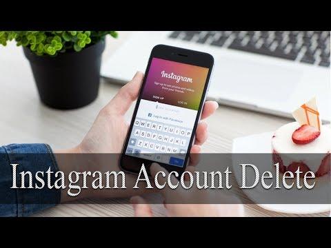 How to Delete Instagram Account ? Instagram account डिलीट कैसे करे ? Latest 2018 Trick