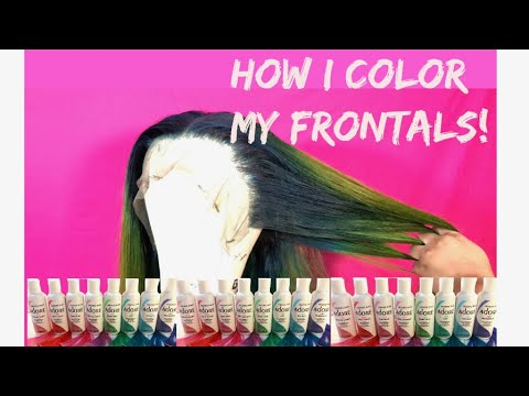 How To Ombré Bundles & Frontals & Giveaway! Ali Sugar Hair