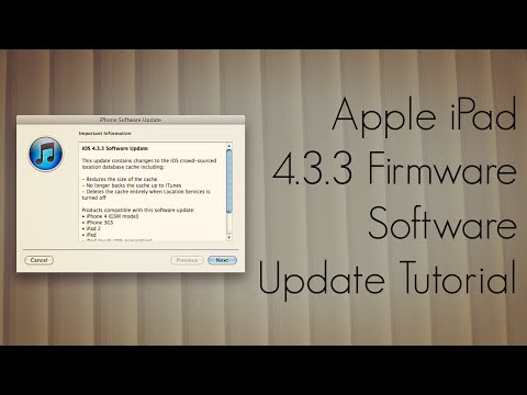 Apple iPad 4.3.3 Firmware Software Update Tutorial - iTunes - PhoneRadar