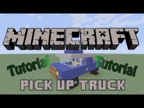 Minecraft Xbox 360 Tutorial: How to build a Pick-Up Truck