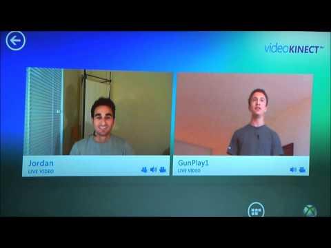Video Kinect and Messenger Demo