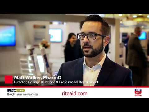 Application and Interviewing Advice for New Graduates | Matt Walker, PharmD | Rite Aid