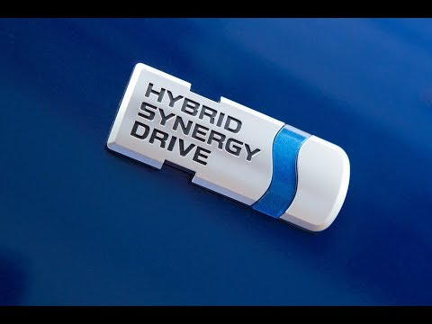 Toyota HYBRID SYNERGY DRIVE Rear Trunk Badge Free Giveaway