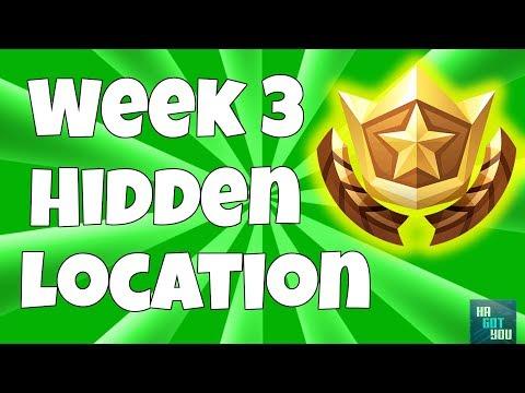 Free Battle Star Location Week #3 (Secret Blockbuster Challenge Coordinates)