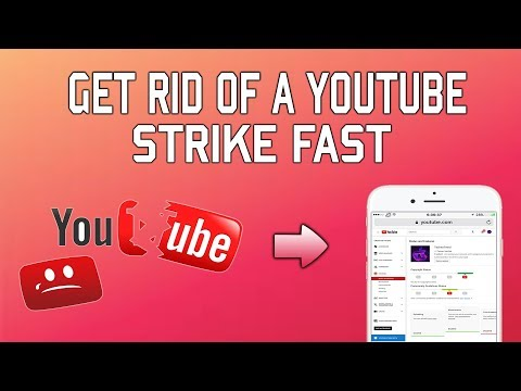 How To Remove  A Strike On Your YouTube Channel On Phone TechnoTrend Exclusive