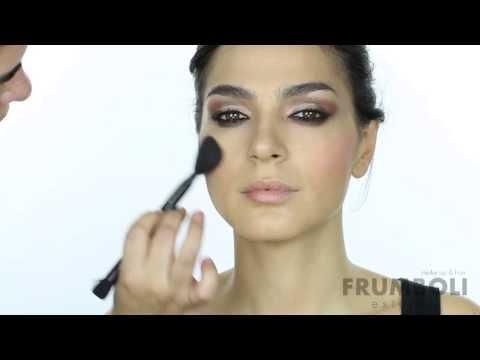 Tutorial para aprender a maquillar smokey eyes marron y negro.