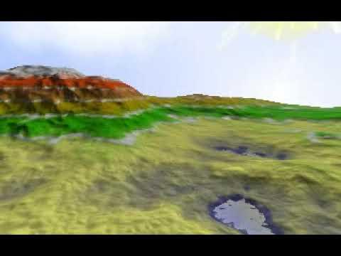 OpenGL dEux tech demo (Black Hole Sun)