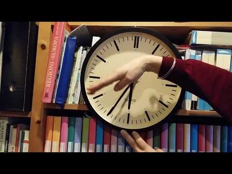 Learn to TELL the TIME on a CLOCK!   (British English)