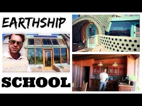 Learn How to Build an Earthship!