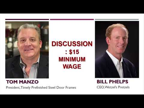 Inland Empire Vision Minimum Wage panel