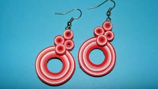 Quilling Earrings Design Making Best All Earring Photos