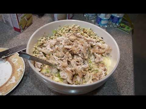 Homemade Chicken Dressing Using Stove Top Stuffing