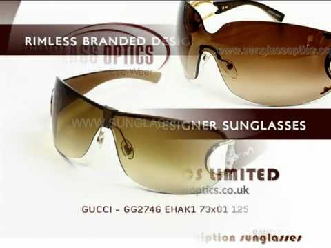 Rimless Branded Designer Sunglasses
