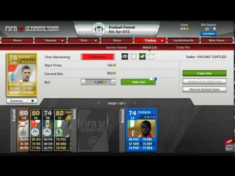 Make Money With 1000 coins Fifa 14 Ultimate Team