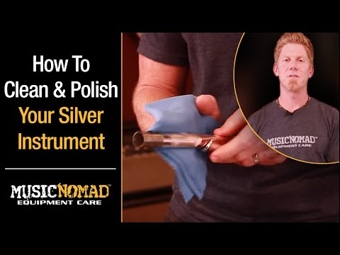 How to Clean & Polish Silver and Silver Plated Musical Instruments