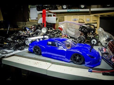 Unboxing a Huge Tamiya Junkyard Lot from Ebay, Future Drift Car Build