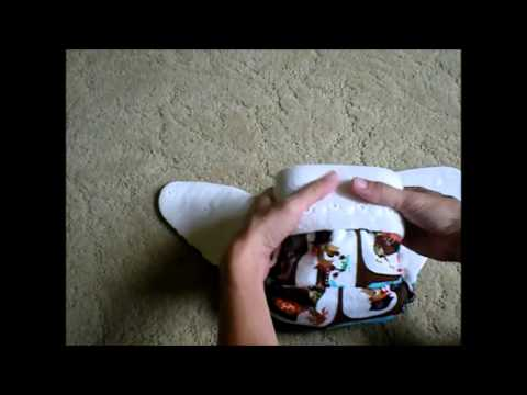 Patty Pants One-Size Bamboo Velour Fitted Diaper - Review & Demo