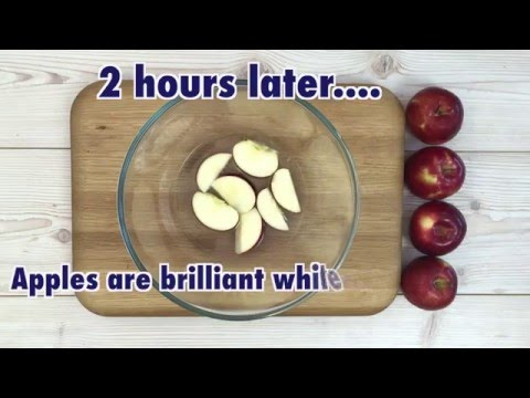How to stop apples browning