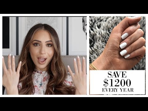 BOUGIE ON A BUDGET - SHELLAC NAILS AT HOME