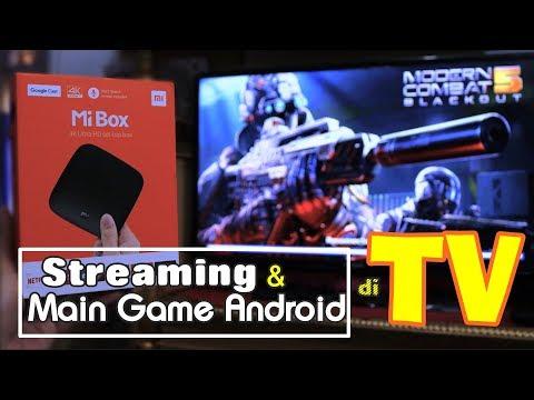 Nonton BOLA/Main GAME ANDROID di TV! – Xiaomi Mi Box 4K Review Indonesia