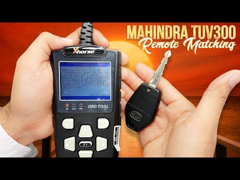 Mahindra TUV300 Remote Matching
