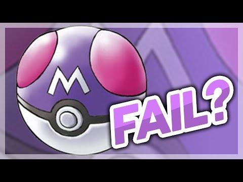 Pokémon Theory - Can The Master Ball Fail?