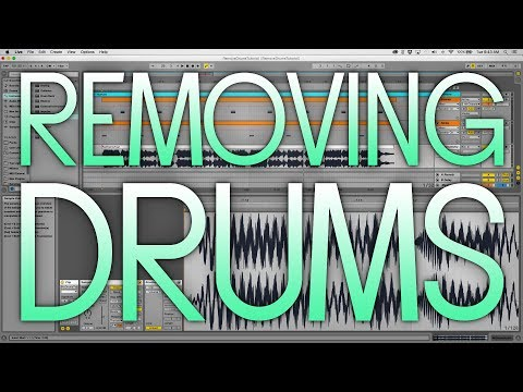 How to Remove Drums from a Song/Sample in Ableton