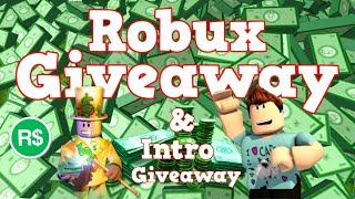 Robux Giveaway + Intro Giveaway | 50000 Subscribers Special