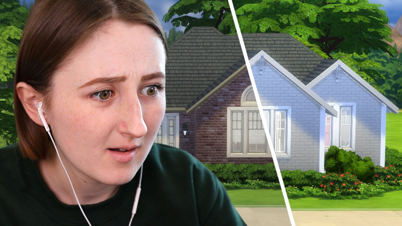 Can I fix this outdated old house in The Sims 4?
