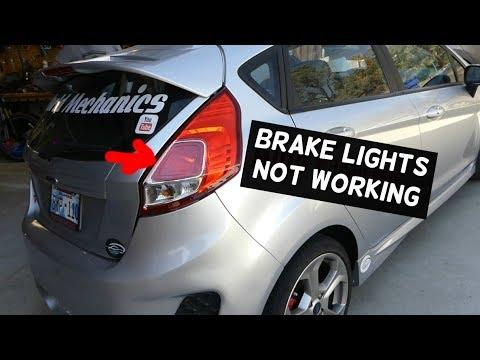 FORD BRAKE LIGHTS DO NOT WORK. HOW TO FIX BRAKE LIGHT