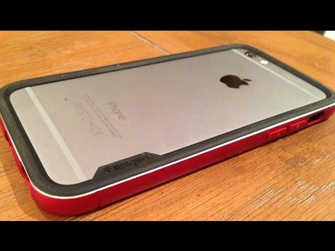 wholesale dealer 864c9 cf9fa Keeping your iPhone 6/6 Plus Classy! Spigen Neo Hybrid Metal Review ...