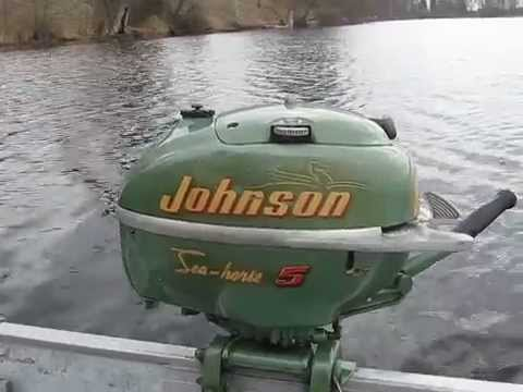1953 Johnson TN-28 5hp outboard motor