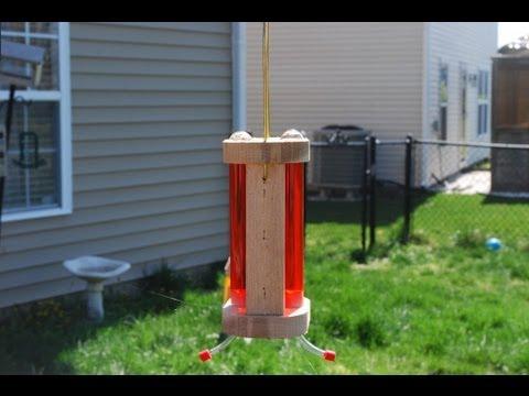 How to Make a Hummingbird Feeder (woodlogger.com)