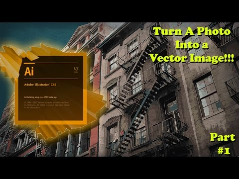 How To Transform A Photo Into A Vector Graphic - Adobe Illustrator Tutorial