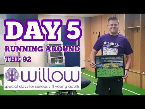RUNNING AROUND THE 92: DAY 5: 10 Clubs, inc. Swindon, Reading, Wycombe, Oxford, Cheltenham