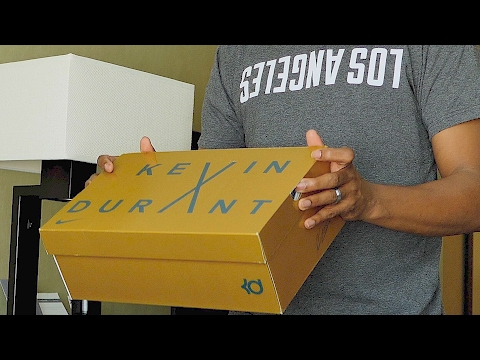 UNBOXING: LIMITED Edition NIKE KD X (10)