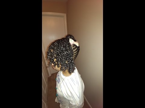 natural hairstyles adult/child friendly #3