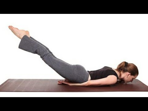 Shalabhasana (Locust Pose) Part 1 for Back pain Slip disc Sciatica Spinal health