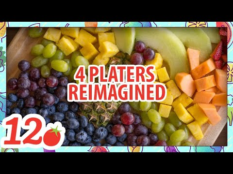 4 Fruit Platters reimagined