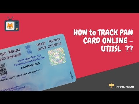 How to track PAN card online - UTI