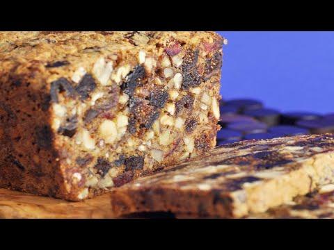 Dried Fruit & Nut Loaf Recipe Demonstration - Joyofbaking.com