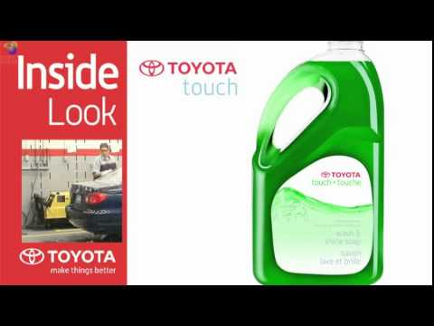 Toyota Genuine Cleaning and Detailing products