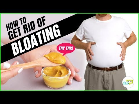 How to Get Rid of Gas and Bloating in Just A Few Minutes