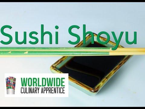 Sushi Shoyu - The Real Sushi Sauce - Fundamentals of Japanese Cuisine