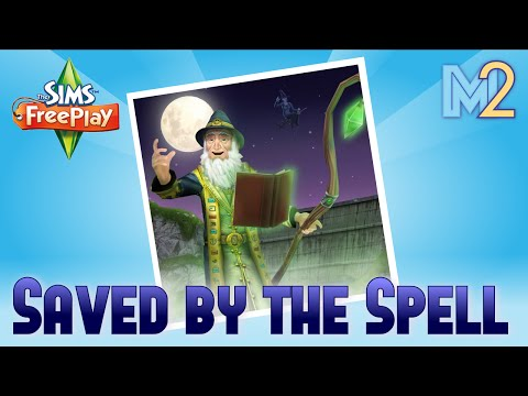 Sims FreePlay - Saved by the Spell Quest + Potion Hobby (Tutorial & Walkthrough)